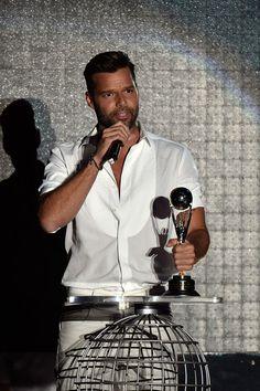 "Ricky received the ""Latin Legend Award"""