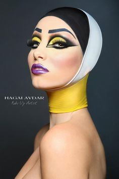 Drag Queen Make-up - Magazine cover