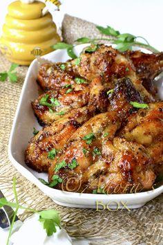 Baked Honey Mustard Wings