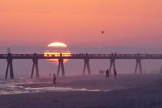 Pensacola Pier on Pensacola Beach, FL