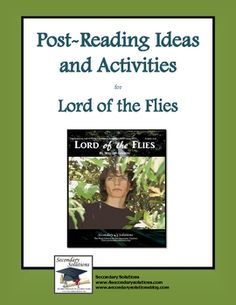 Complete set of Post-Reading Ideas and Activities for concluding/assessing William Golding's Lord of the Flies.  $3.99