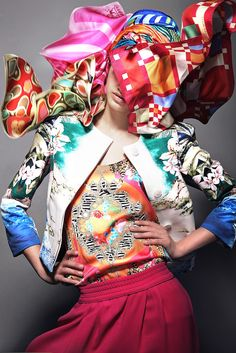 mix and match...ZsaZsa Bellagio: It's a Fashion Color Explosion