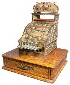 National Cash Register Barber Shop Model # 6...Yum ice cream :)