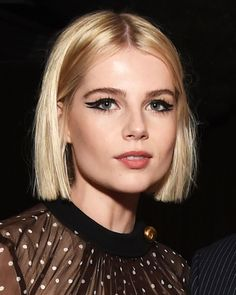 Actress Lucy Boynton Had the Best Red Carpet Beauty Looks