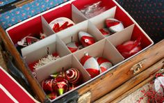 Organizing and Storing Christmas Decorations