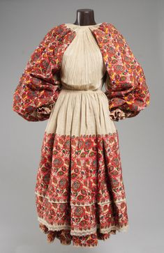 Folk costume of Moslavina, Croatia, c. 1930.