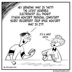 This weeks CloudTweaks.com Friday comic! #comic #wearabletech