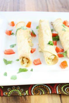 Chicken Artichoke & Jalapeño Taquitos | Miss in the Kitchen