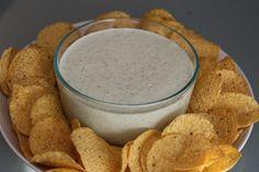 Copycat Chuy's Creamy Jalapeno Dip #PartyAppetizer