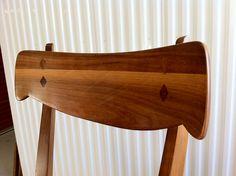 junk2funk: Mid Century Modern Drexel Declaration Dining Set with 4 Walnut Chairs by Kipp Stewart