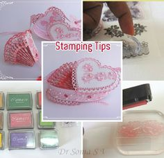 Stamping Basics and Tips - how to choose ink pads and how to get crisp images every time!!
