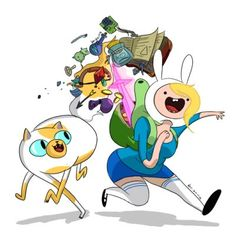 Fionna and Cake Adventure Time!