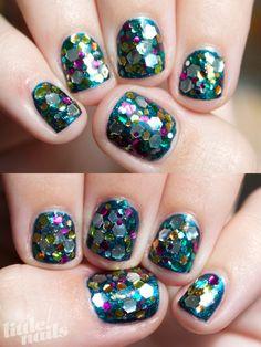 Glitter | Close Up #NOTD