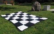 Checkered Race Flag Blanket