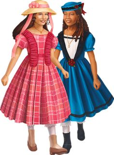 American Girl History Units: Marie Grace and Cecile
