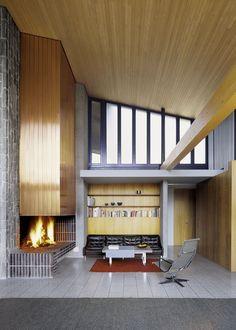 Richard Neutra - Rentsch House, Wengen 1964 (prev). Photos (C) Jürg Zimmermann Repinned by Secret Design Studio, Melbourne.  www.secretdesignstudio.com