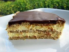 Chocolate Eclair Cake - I love this dessert!!  So easy and delicious!
