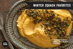 EIGHT RECIPES for cooking with winter squash, including kabocha, butternut, spaghetti and others... Just click through for the collection!