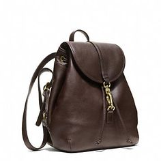 Coach :: STUDIO LEGACY BACKPACK IN LEATHER