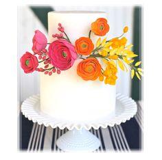 celebration cakes, bouquet cake, modern wedding cakes, flower bouquets, simple cakes