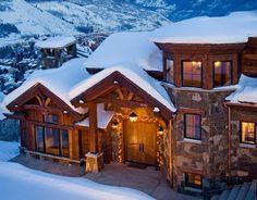 love log cabins!