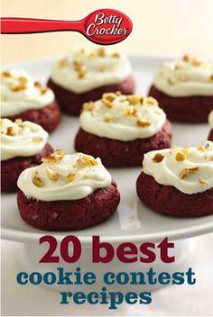Bargain e-Cookbook: Betty Crocker 20 Best Cookie Contest Recipes {99 cents!} #cookies #cookierecipes #recipe