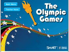 The Olympic Games - SMART Notebook lesson containing multiple activities featuring information about the Olympic Games, Lesson includes elements dealing with history, mathematics, critical thinking, art, and language arts.  Resource type: SMART Notebook lesson  Subject: Cross-curricular,  History,  Mathematics,  English Language Arts,  Art and Design  Grade: Kindergarten,  Grade 1,  Grade 2