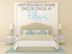 4 affordable home decor tricks that make a HUGE impact, from FunCheapOrFree.com