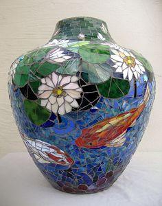 Judith Scallon, mosaic vase