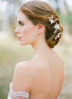BRIAR-ROSE | bridal hair pins | Percy Handmade