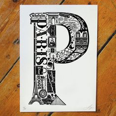 Best Of Paris Screen Print
