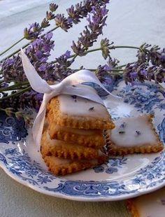 lemon lavender cookies