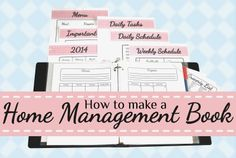 How to Make a Home Management Book