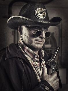 Cowboy steampunk by Rebeca Saray Gude, via 500px