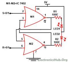 Electronics Projects Circuits On Pinterest Led Lamp Led