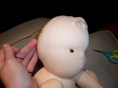 Multi-page tutorial - the finishing touches for a Waldorf inspired doll