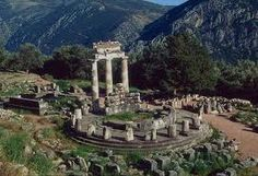 Roamed greek ruins in Delphi, Greece