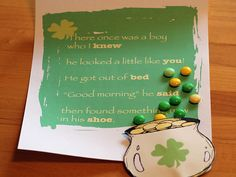 great idea for teaching poetry/genre along with fun for st patty's day.