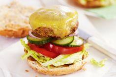 Low-fat cheeseburger main image