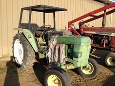 John Deere 2130 tractor salvaged for used parts. Call 877-530-4430 for the best selection of used ag parts. http://www.TractorPartsASAP.com