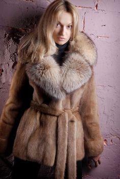 Mink & Fox Fur Jacket