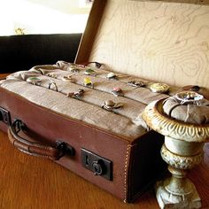 Jewelry Box Suitcase  Ode to Suitcases: 20 InnovativeIdeas  www.untravelledpathsblog.wordpress.com