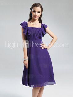Promotion Dress bridesmaids, idea, squar kneelength, squares, alin squar, kneelength chiffon, bridesmaid dresses, sleev, chiffon bridesmaid