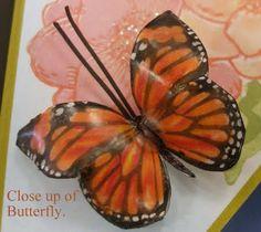 Porcelain Paper Butterflies - tutorial