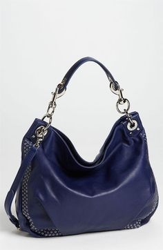 The perfect mix of slouchy and pretty! It's roomy enough to fit your stuff, but small enough not to overwhelm your look! Rebecca Minkoff 'Mini Luscious' Hobo, $425; shop.nordstrom.com