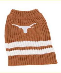 Longhorn Pet Sweater  #cute #puppy #kitten #hookem