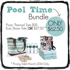 Pool Time Bundle - March special