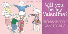 Musical Valentine's Circle Game from Let's Play Music