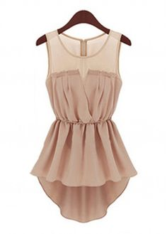 "Cute Chiffon Peplum Tank Top Sale On <a href=""http://www.lulugal.com"" rel=""nofollow"" target=""_blank"">www.lulugal.com</a>"