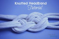 Girls Camp, Secret Sister Gift or Camp Craft ... T-Shirt Knotted Headband Tutorial   #diy